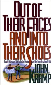 """Out of Their Faces and Into Their Shoes"" by John Kramp — Kimia Wood — lost"