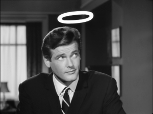 """The Saint"" by Leslie Charteris Starring Roger Moore — Kimia Wood"