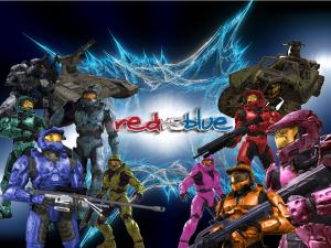 """""""Red vs. Blue"""" (Seasons __ thru 13)"""